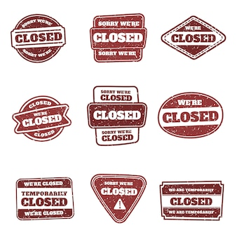 Вручите оттянутые марки закрытой печати