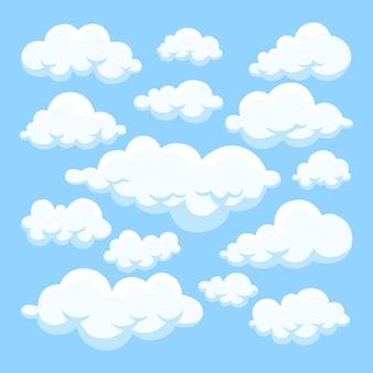 手描きの雲コレクション