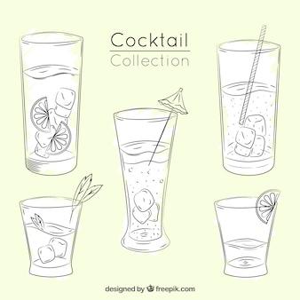 Ручная нарезка коктейля