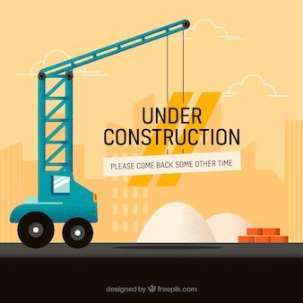 Modello in costruzione disegnato a mano