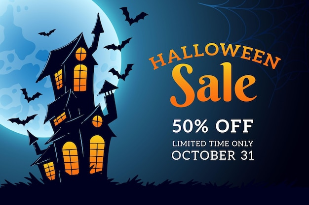 Hand drawn design halloween sale