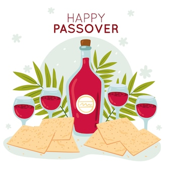 Hand drawn design pesach
