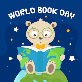 Hand drawn design world book day
