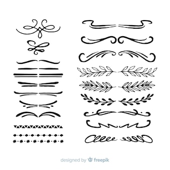 Hand drawn divider pack