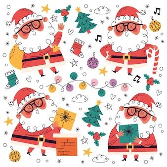 手描き+落書きクリスマスコレクション