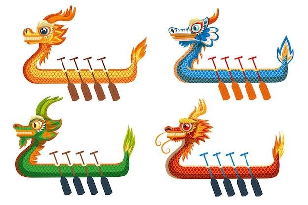Пакет лодок-драконов