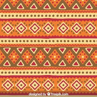 Hand drawn ethnic pattern