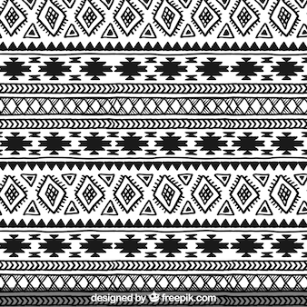 Hand drawn ethnic pattern
