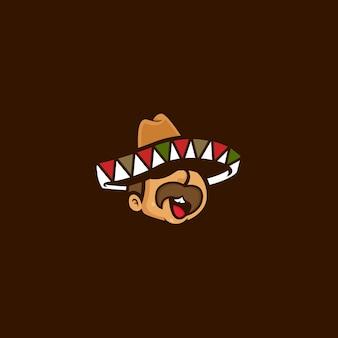 Рисованное лицо мультфильм синко де майо