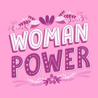 손으로 그린 페미니스트 글자