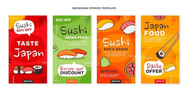 Рисованные рассказы о еде в instagram