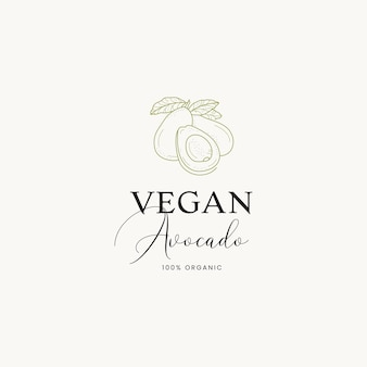 카페 레스토랑에 대한 손으로 그린 음식 미리 만들어진 로고 디자인 템플릿 컬렉션 그래픽 아이콘 기호