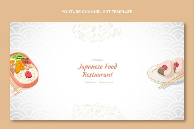 Arte del canale youtube di cibo disegnato a mano