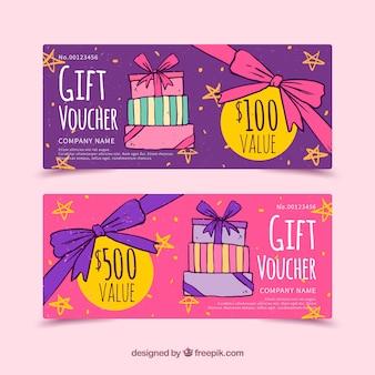Подарочные купоны подарочные