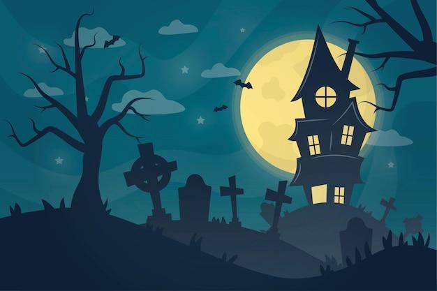 Ручной обращается фон хэллоуин