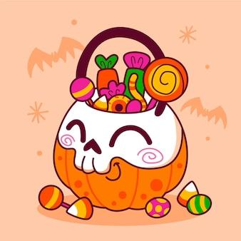 Сумка на хэллоуин
