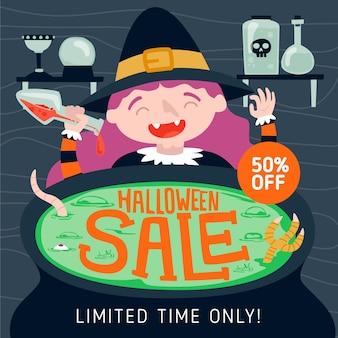 Hand-drawn halloween sale