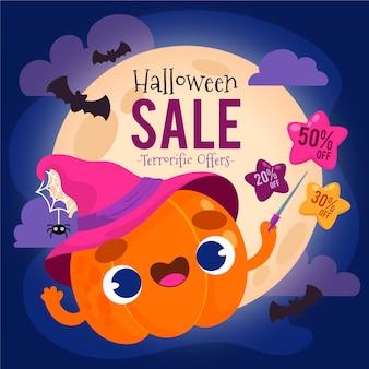 Hand drawn halloween sale