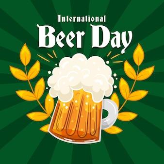 手描きの国際ビールの日