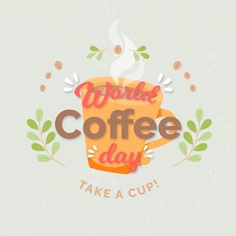 手绘国际咖啡日