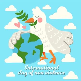 Ручной обращается международный день ненасилия