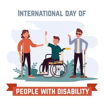 障害者の手描きの国際デー