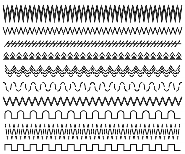 Hand drawn line frames, seamless doodle pattern.