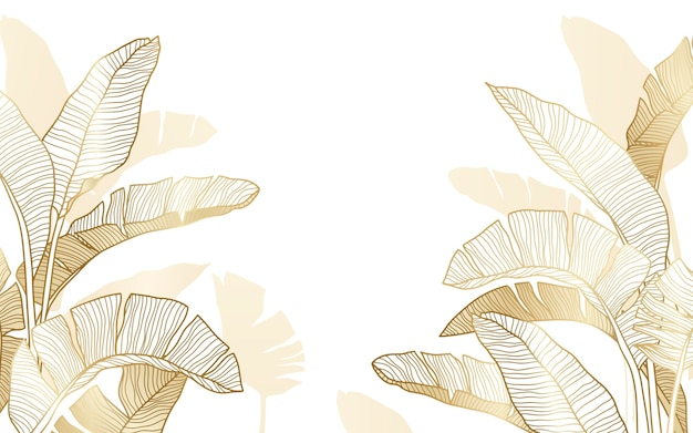 Ручной обращается линейный гравированный цветочный фон