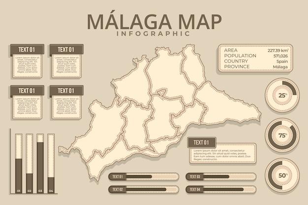 Ручной обращается карта малаги