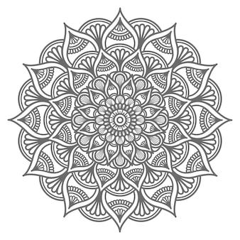 Hand drawn mandala illustration decorative concept