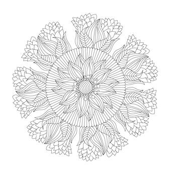 手描きの曼荼羅