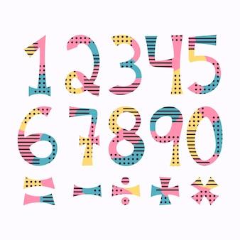 手描きの数学記号