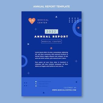 Rapporto annuale medico disegnato a mano