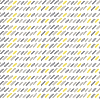 Hand drawn modern doodle seamless pattern. grunge gray, yellow, white background. vector illustration can be used for textile, wallpaper, wrapping paper, web