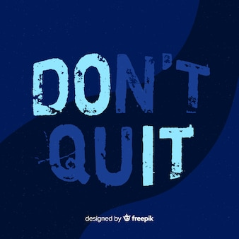 Hand drawn motivational lettering background