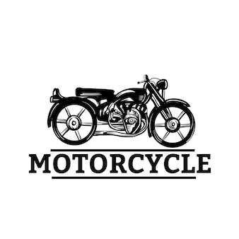Рисованный мотоцикл