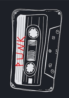 Hand drawn music vector for t shirt printing