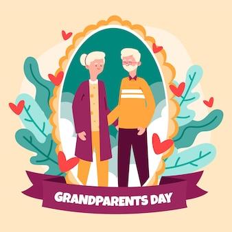 Hand drawn national grandparents' day
