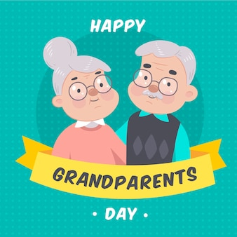 Hand drawn national grandparents' day