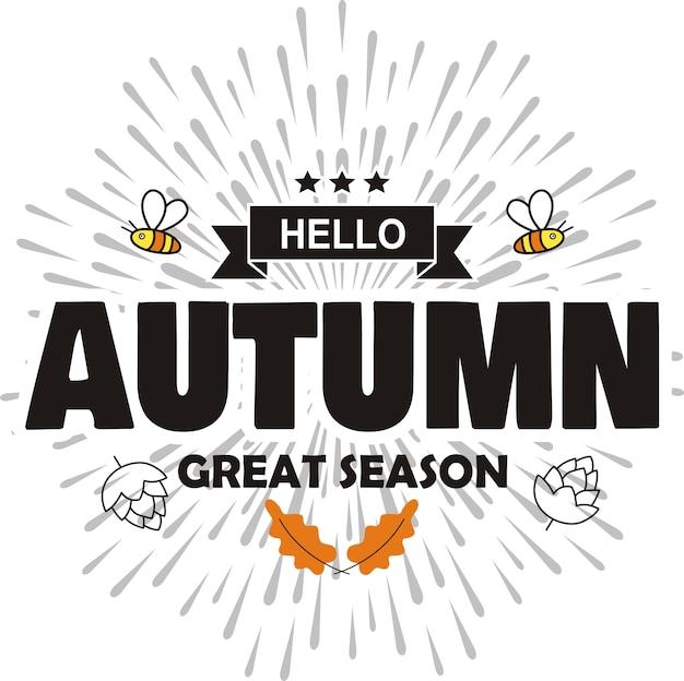 Ручная работа hello autumn great season