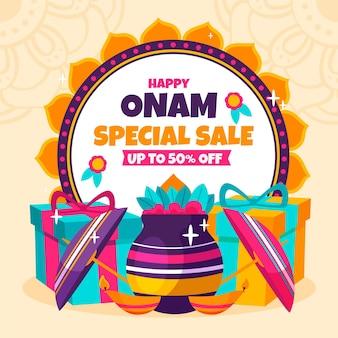 Hand-drawn onam sales
