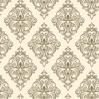 手描きの装飾パターン