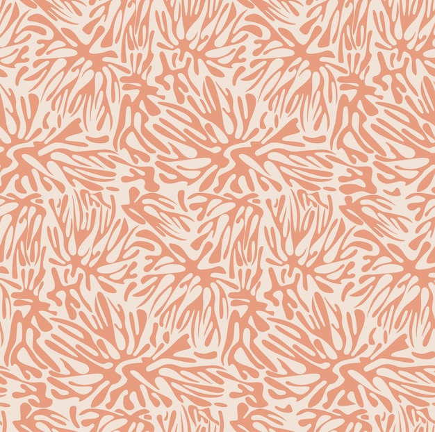 Hand drawn pastel pattern
