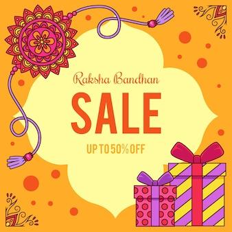 Hand drawn raksha bandhan sales