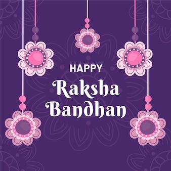 Hand drawn raksha bandhan