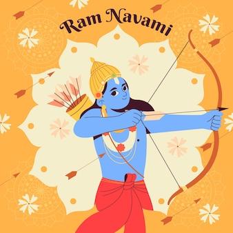 手描きのラムnavamiイラスト