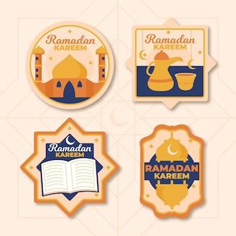 Коллекция рисованной рамадана