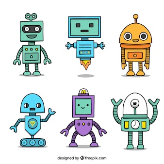 Robot Vectors Photos And Psd Files Free Download