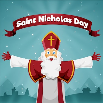 手描きの聖ニコラスの日