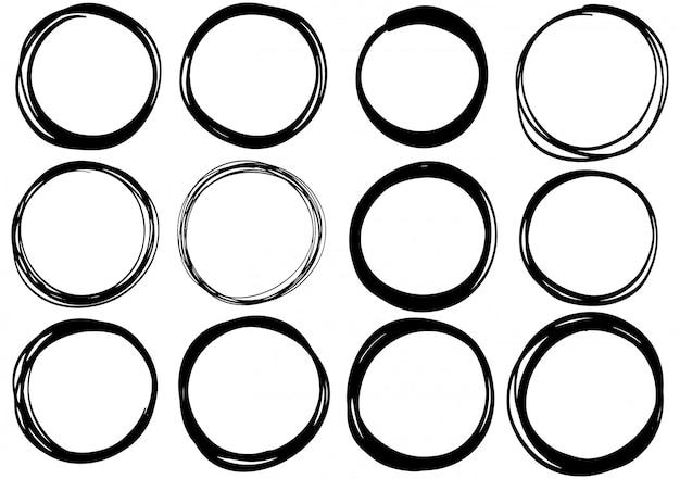 Рисованной каракули круг
